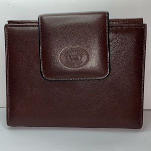 Buxton Brown leather wallet